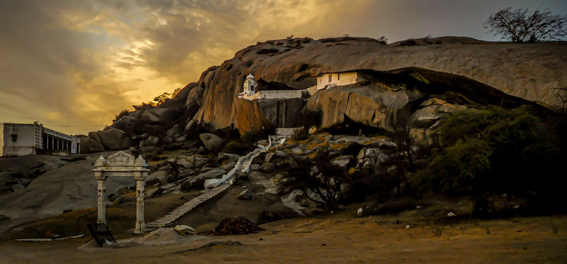 Highly Commended: Temple In The Aravalli Hills