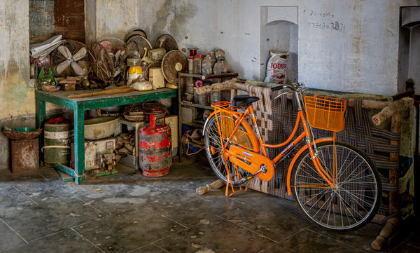 Highly Commended: Orange is the new rust