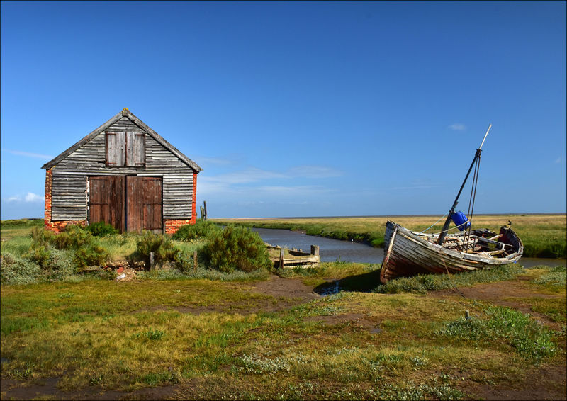 Commended: Thornham Marsh Barn With Boat