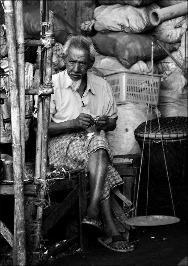 2nd Place: Charcoal Seller