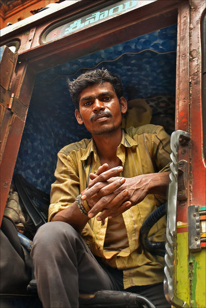 Indian Lorry Driver