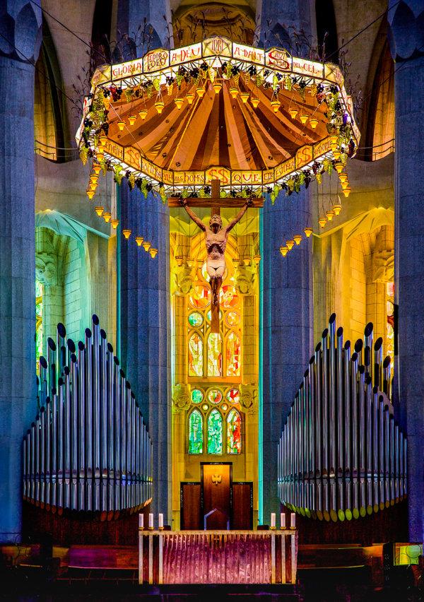 1st Place: La Sagrada Familia Altar Barcelona