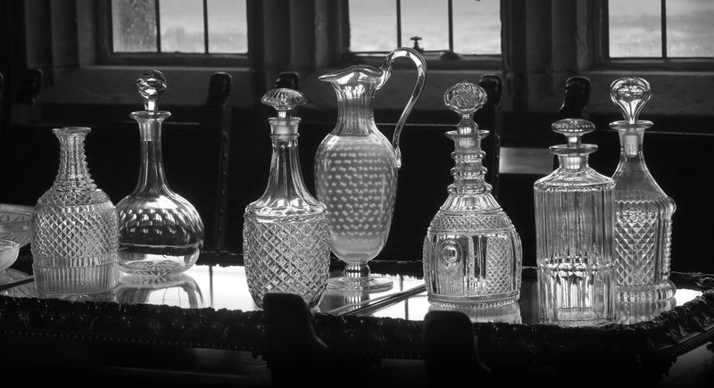 Commended: Bamburgh Castle Glass collection