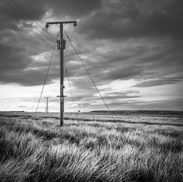 Commended: Power Lines at Meltham