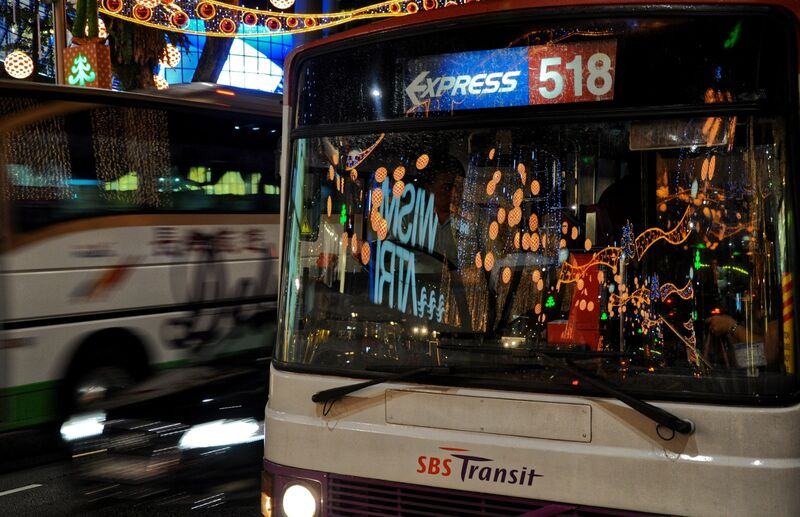 3rd Place: Singapore Bus
