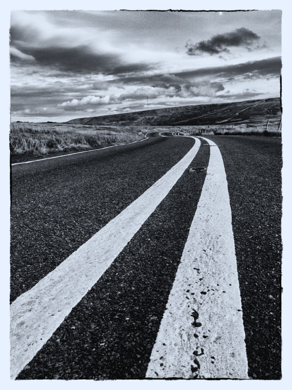 Highly Commended: White Lines