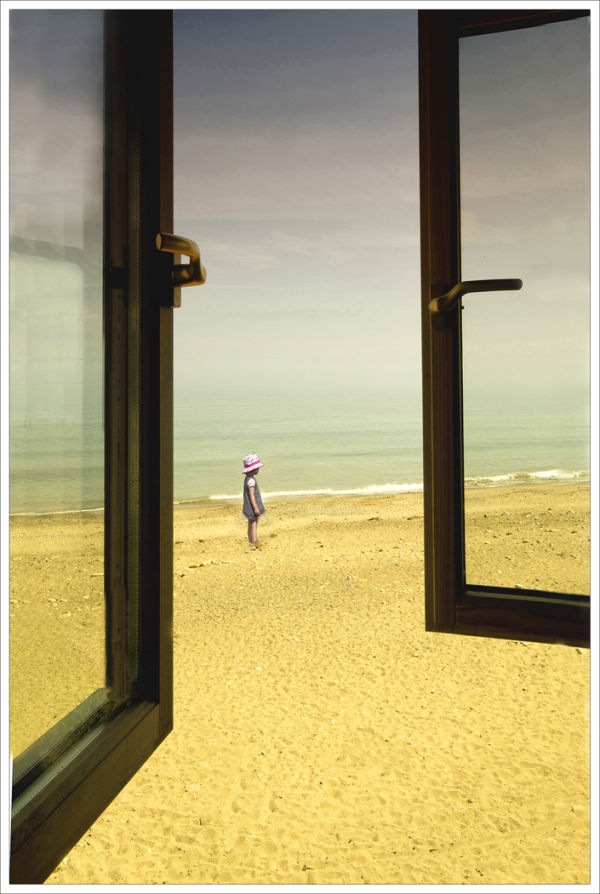 Through The Open Window by Gill Sharp (Third Place)