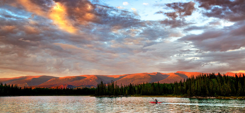 Commended: Evening Light - Boya Lake British Columbia