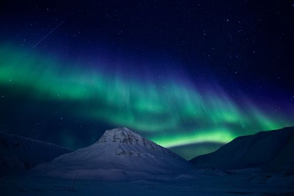 2nd Place: Northern Lights - 1