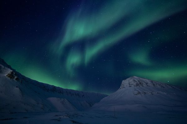 2nd Place: Northern Lights - 3