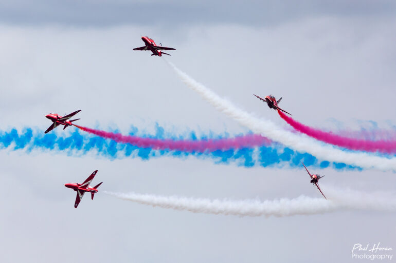 Red Arrows @ British Grand Prix