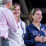 Susie Wolff and Claire Williams