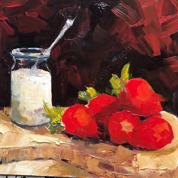 Strawberries &cream