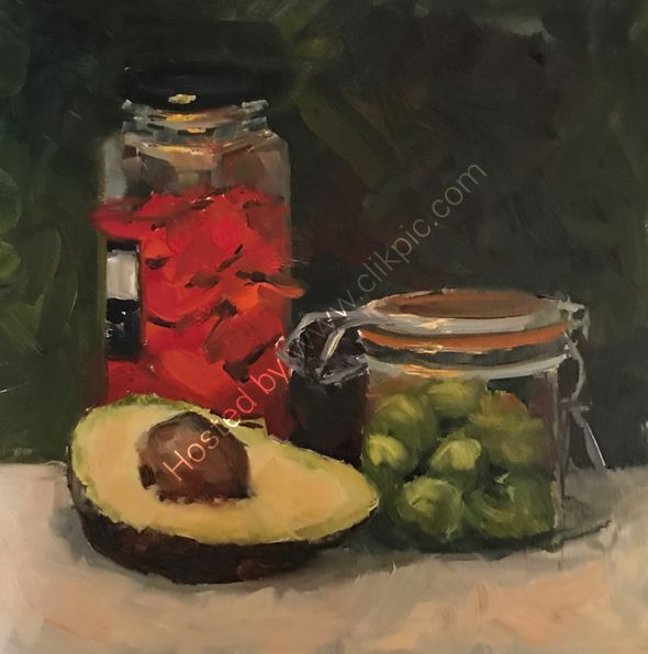 Olives and avocado