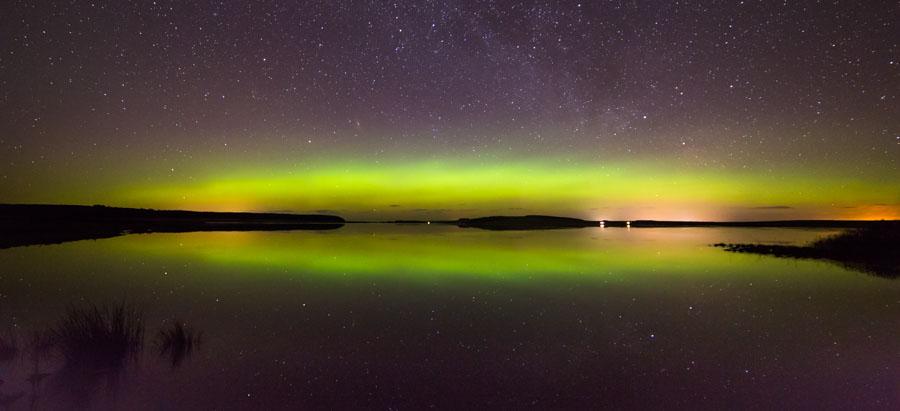 Loch Calder Aurora