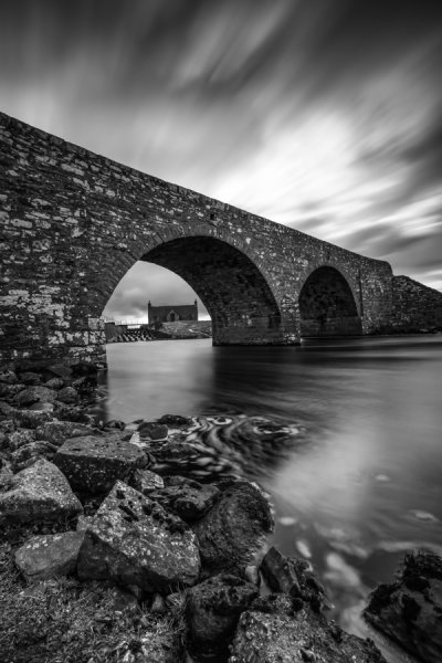 Loch More Bridge BW