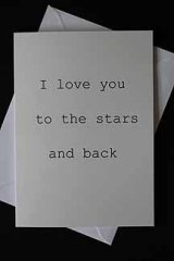 I love you to the stars and back