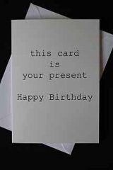 this card is your present