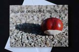 You've conkered my heart