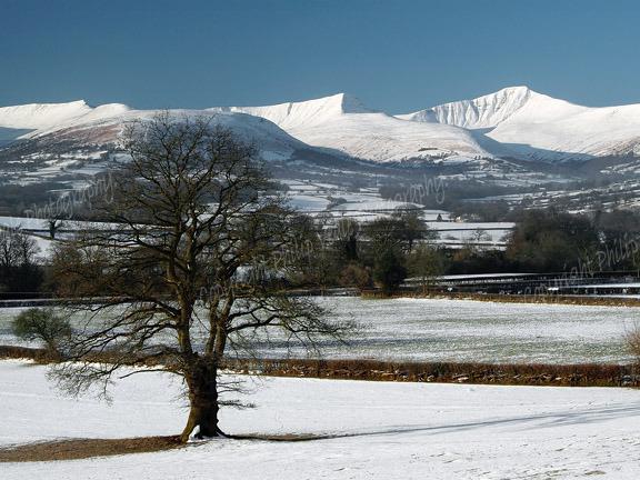 Brecon Beacons in winter 5.