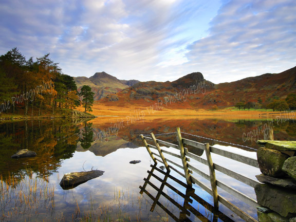 Blea Tarn at Dawn.