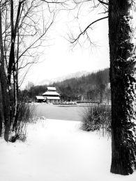 The Festival Park in Winter.