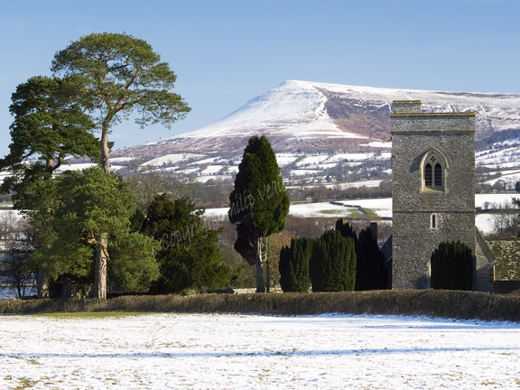 Llangasty in winter 2.