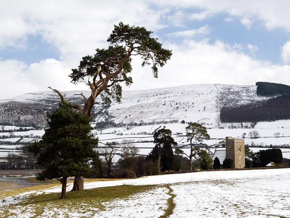 Llangasty in winter 1.