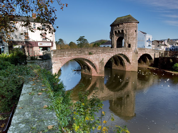 Monnow Bridge, Monmouth.