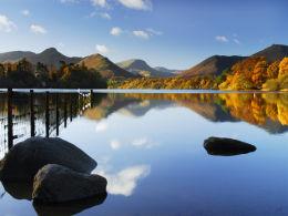 Reflection of Autumn, Derwent Water.