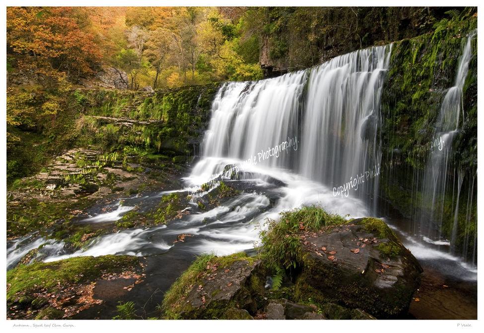 Autumn, Sgwd Isaf Clun-gwyn.