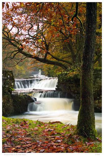 Horseshoe Falls on the Nedd Fechan.