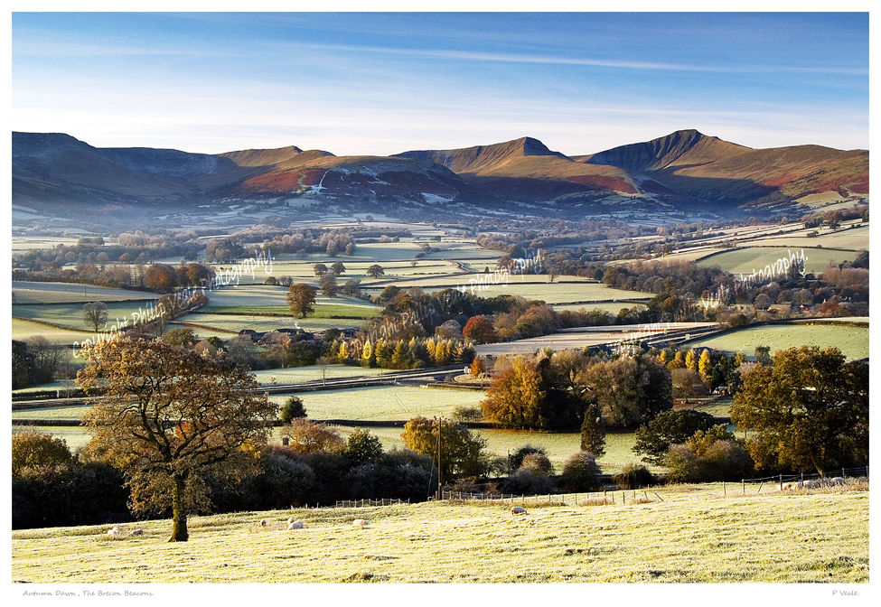 Autumn Dawn,The Brecon Beacons.