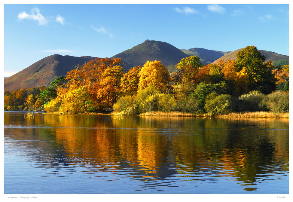 Autumn, Derwent Water.