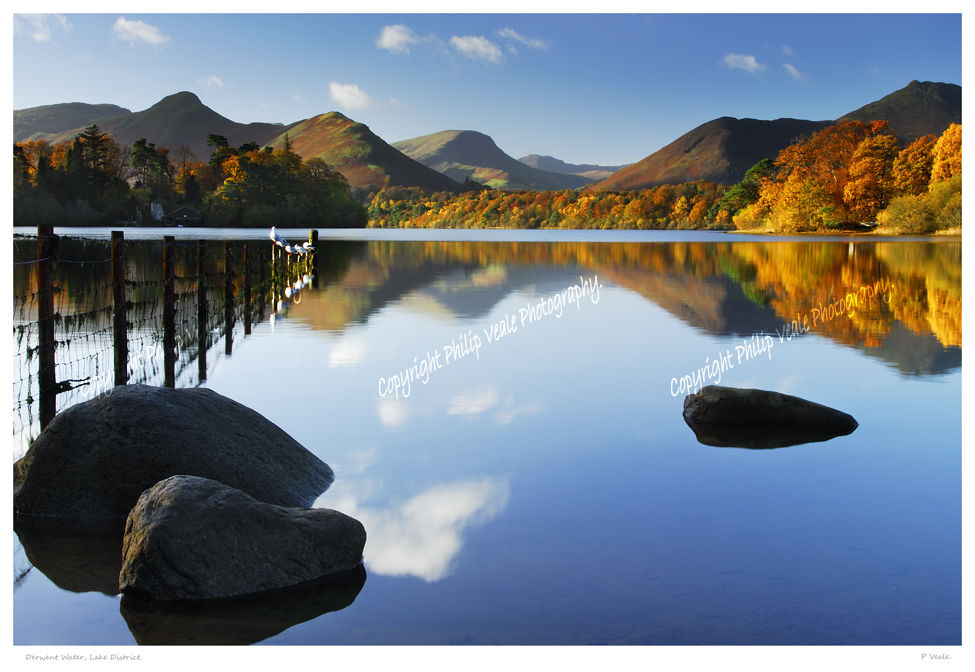 Derwent Water, Lake District.