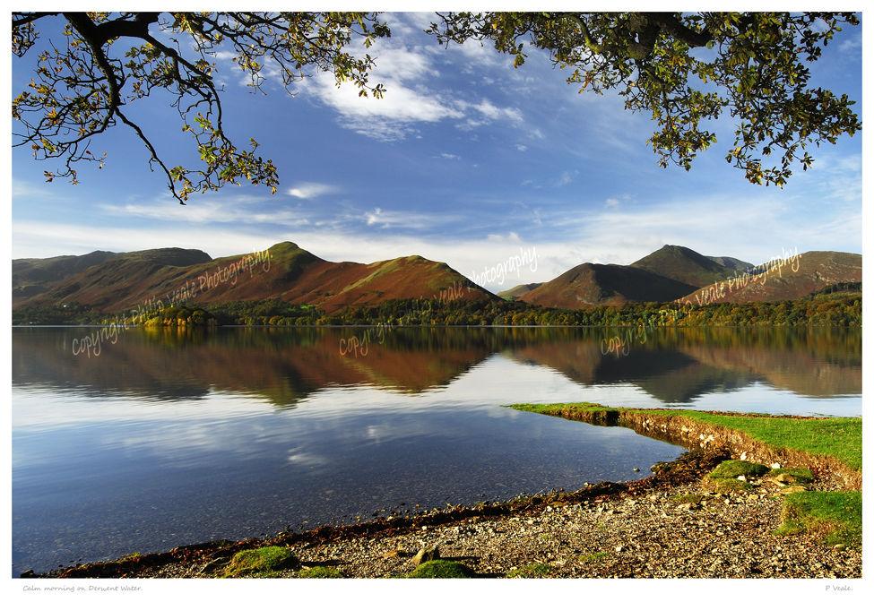 Calm morning on Derwent Water.