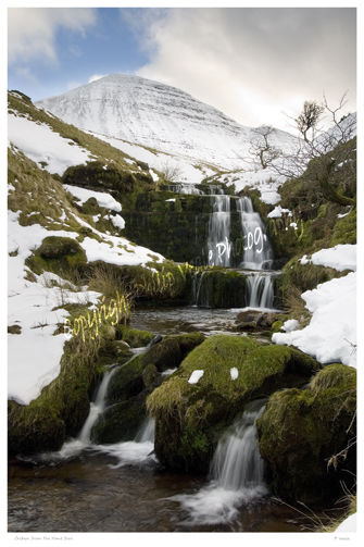 Cribyn from the Nant Sere.