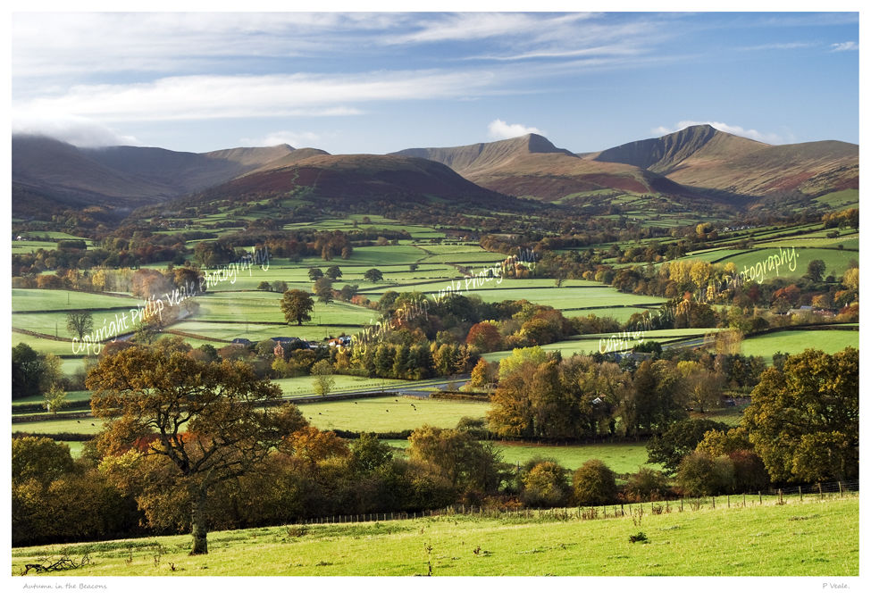 Autumn in the Beacons.