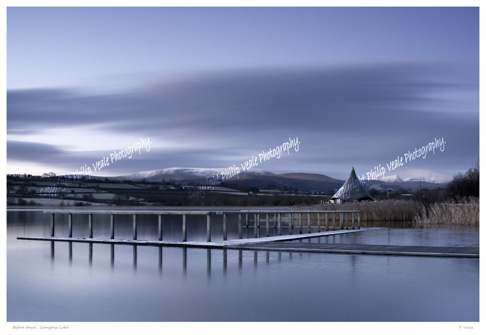 Winter Dawn, Llangorse Lake.