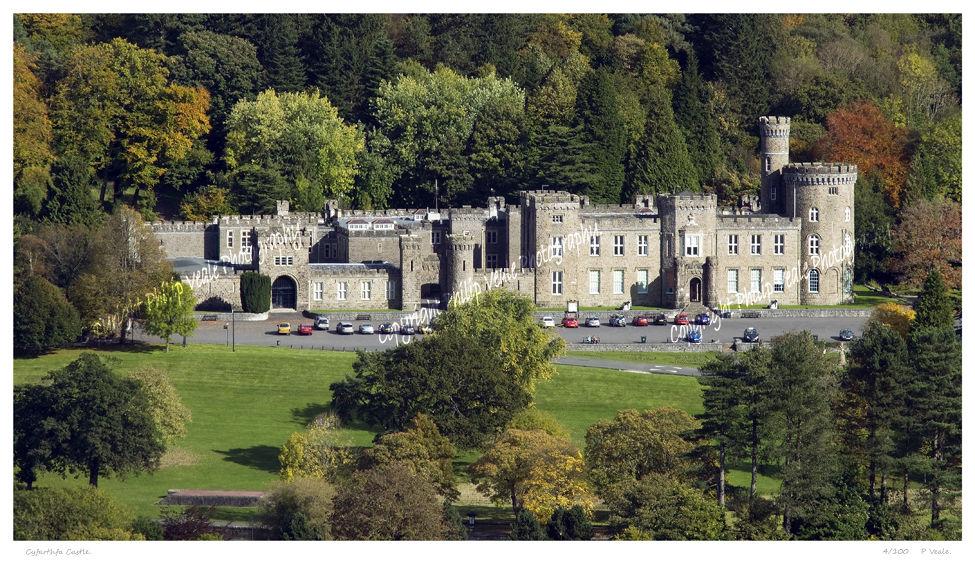 Early autumn, Cyfarthfa Castle.