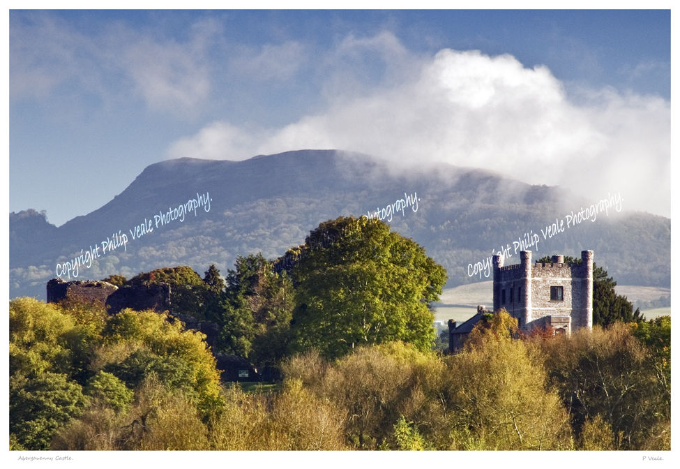 Abergavenny Castle.