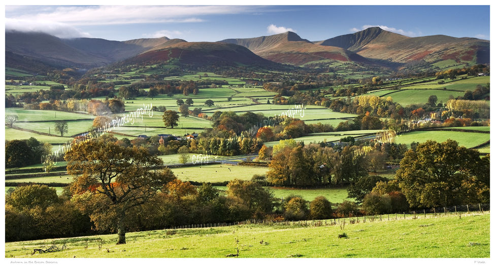 Autumn in the Brecon Beacons.