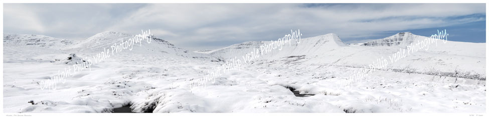 Winter in the Brecon Beacons.