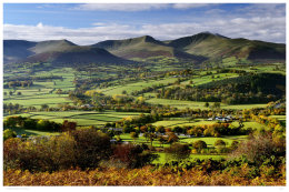 The Brecon Beacons in Autumn.