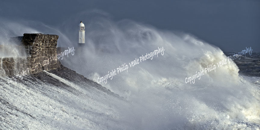 Storm Freya Vortex.
