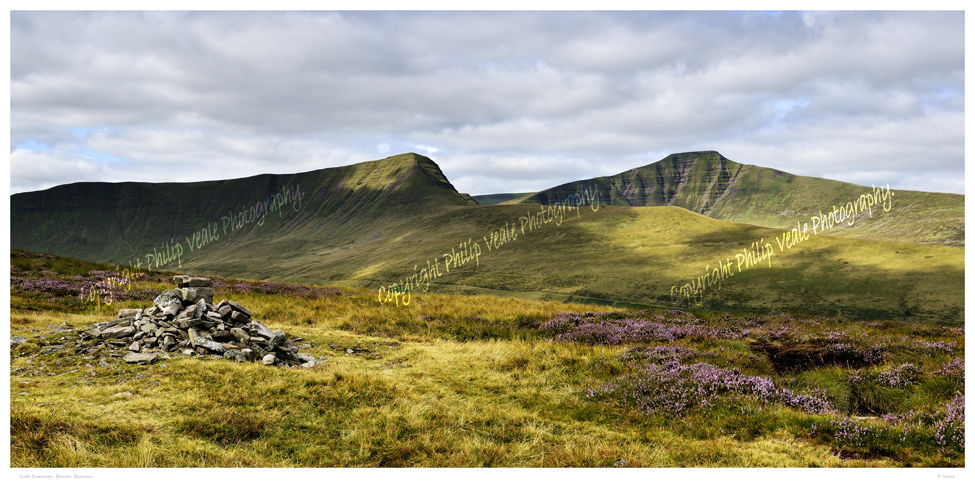 Late summer, the Brecon Beacons.
