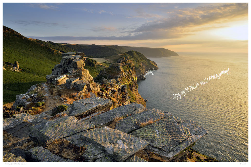 Valley of the Rocks, Lynton.