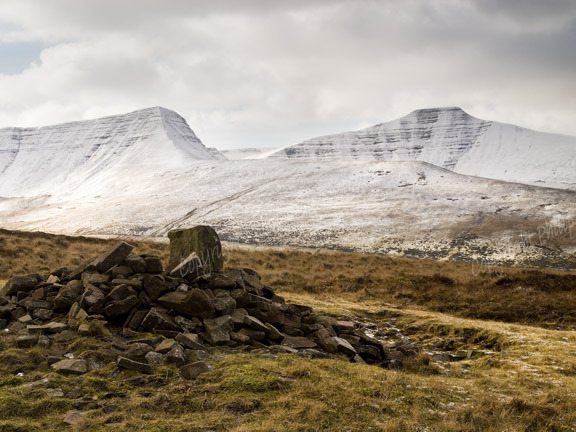 The Brecon Beacons in Winter 4.