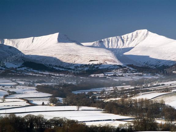 Brecon Beacons in winter 6.