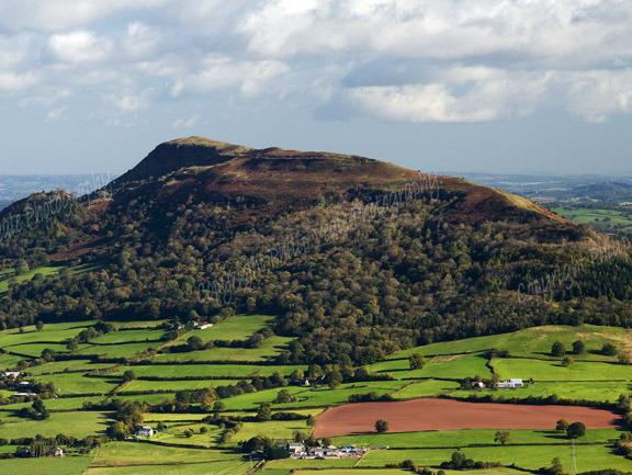 The Skirrid Mountain.